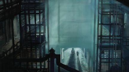 Lobby - Blade Runner