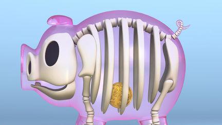 transparent piggy