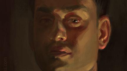 Self Portrait - The Dark Side