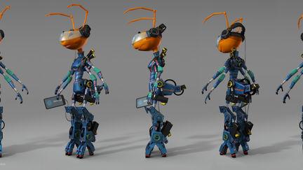 Cyborg Ant Mascot