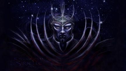 Morgoth with Silmarili concept