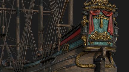 Fluyt ship 16th century