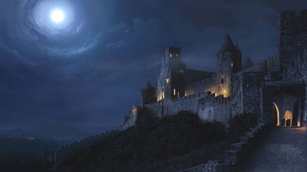 Castle at Night