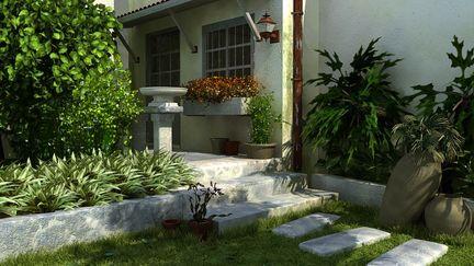 Architecture|backyard