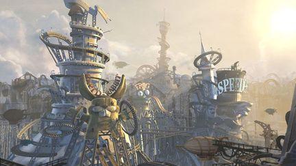 Theme Planet Skyline, Sormann At Work (3D)