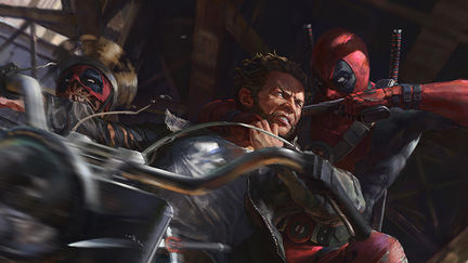 Wolverine VS Deadpool Corps .