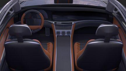 Tesla Model C Interior