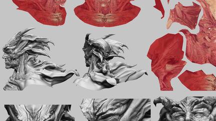 DEVILMAN Bust - Models 01