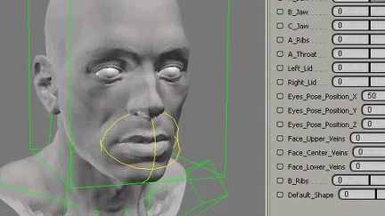 Technical Animation; Character Face 01