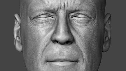 Bruce Willis Head Sculpt