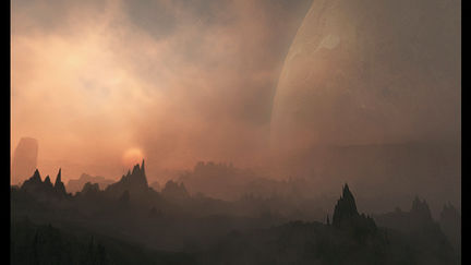 SandStorm: Alien Environment