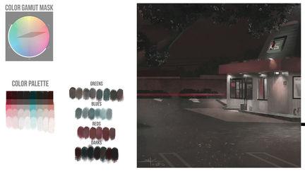Nighttime Plein-air Jack-in-the-Box  | Brainstorm DC1 | VisualPops