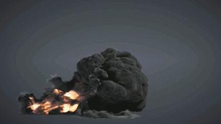 FumeFx Medium Blast Test