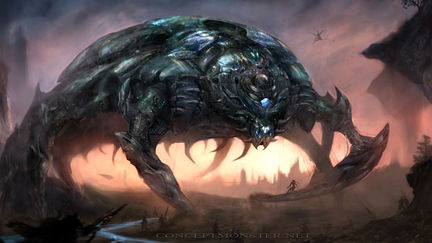 Colossal Scarab