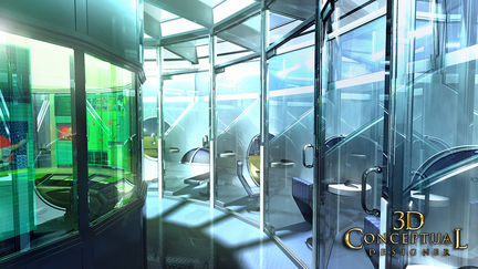 Mind Room-Architectural Conceptual Design Illustration 3