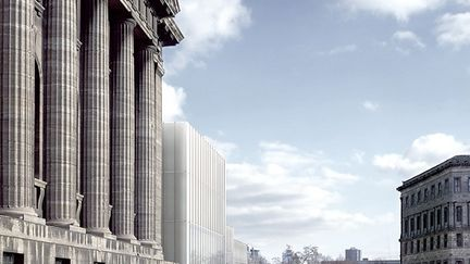 New Entrance Building, Berlin