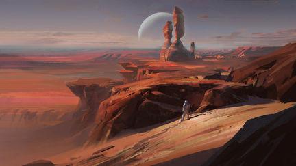 Alien rocks