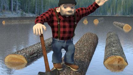 Bob the Lumberjack - 3D character