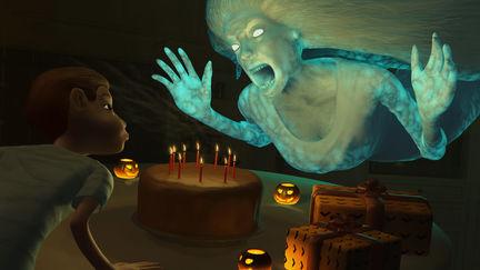 Halloween Birthday Wail Wishing