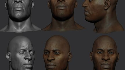 African American Male (WIP)