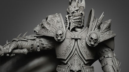 Lich King - Arthas (HP Model)