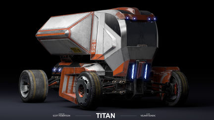 TITAN (Near Future Truck)