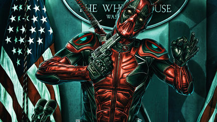 Deadpool the patriot