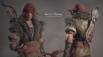 Warrior's Pilgrimage Unnamed Main Character