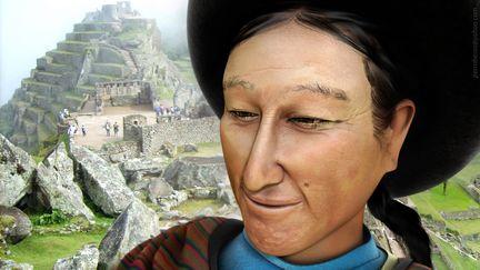 woman of Machupicchu