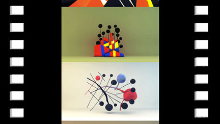 'Calder' Paintings in 3D
