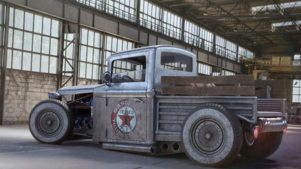 ford 28 truck hot rod for a live presentation @ the gnomon school