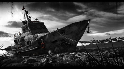 The abandoned ship