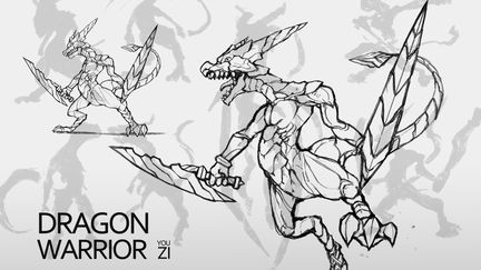 DRAGON WARRIOR DESIGN