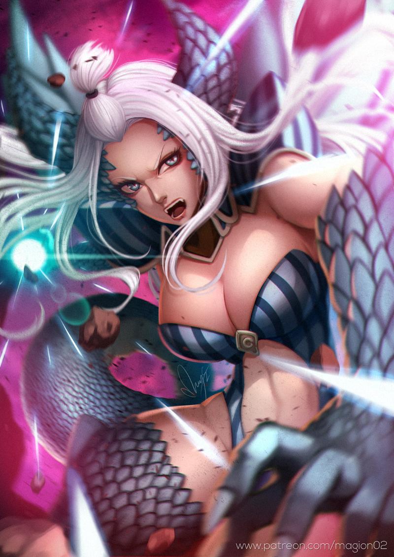 Mirajane Halphas By Magion02 Character Art 2d Cgsociety Mirajane in her satan soul: mirajane halphas by magion02