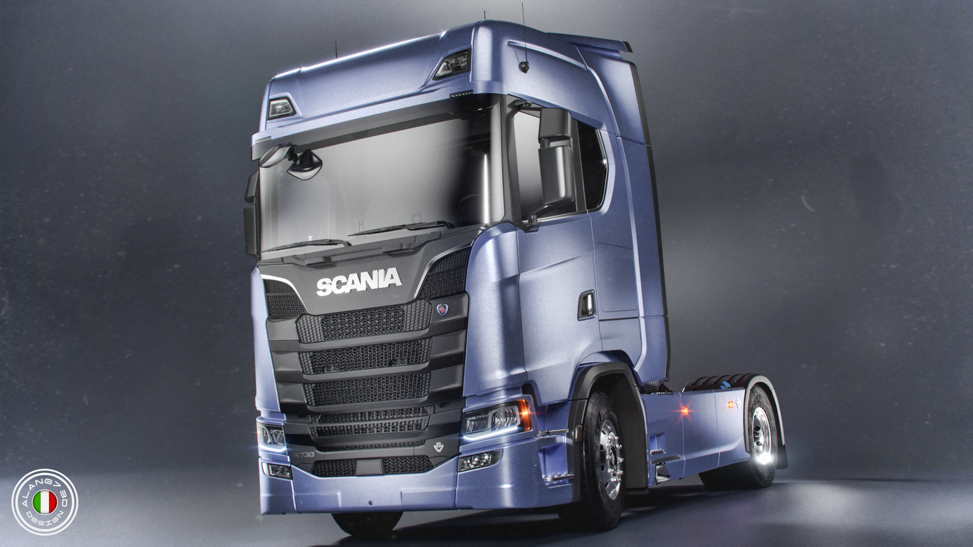 New Scania S730 V8 Euro 6 by Alang7 | Transport | 3D | CGSociety