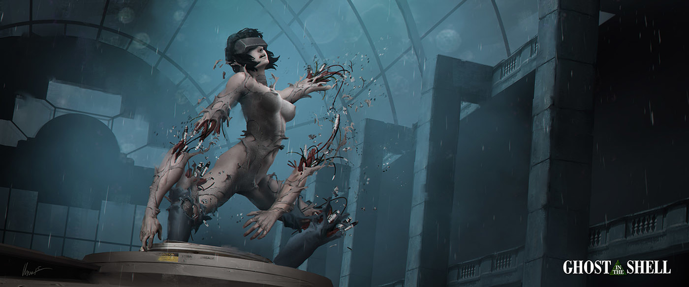 Ghost In The Shell Fanart By Albyu Concept Art 2d Cgsociety