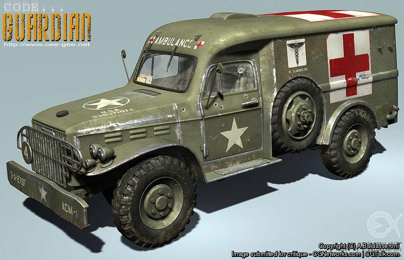 Baldasseroni 1943 ambulance abald  14676dca 1ewh