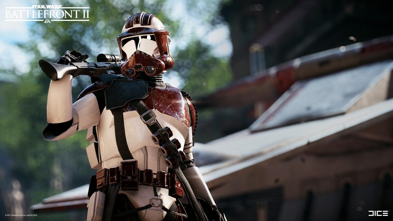 Star Wars Battlefront 2 Clone Trooper Heavy Class By Bjar Art 3d Cgsociety