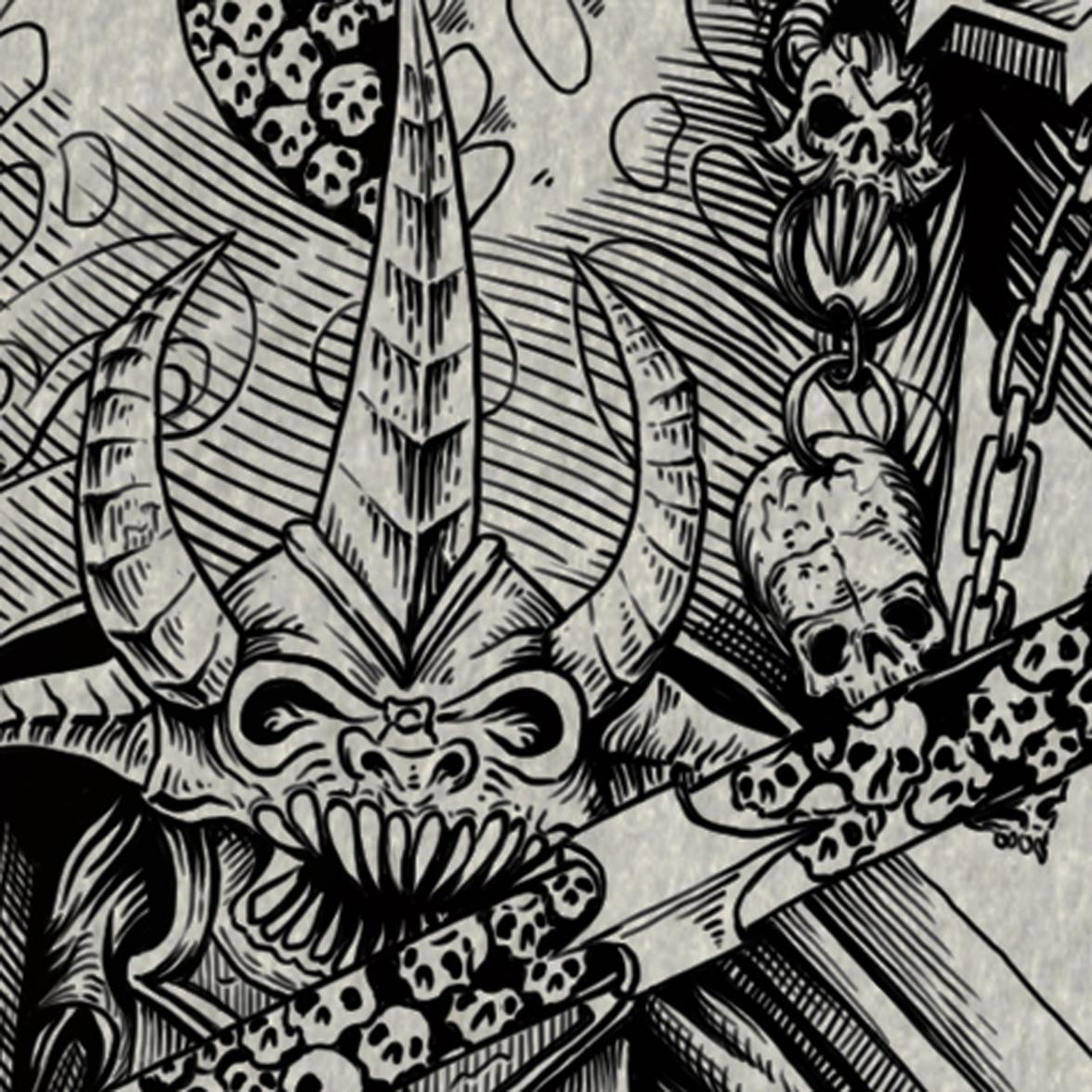 WARHAMMER 40k Khorne (detail)
