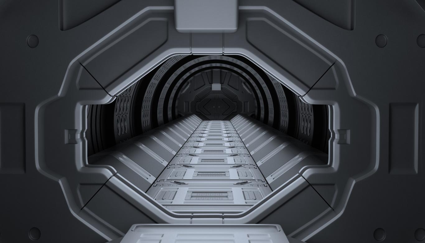 Sci Fi Spaceship Interior Design