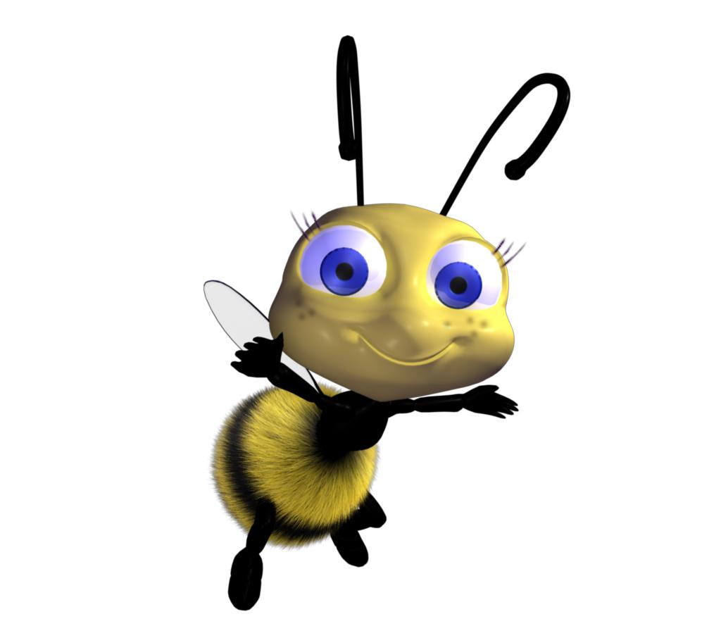 Картинка анимашка пчела