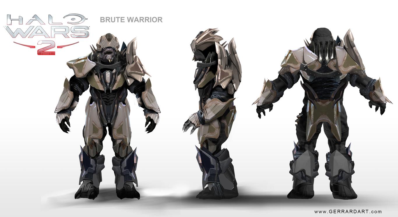 HALO WARS 2 by gerrardart | Sci-Fi | 2D | CGSociety