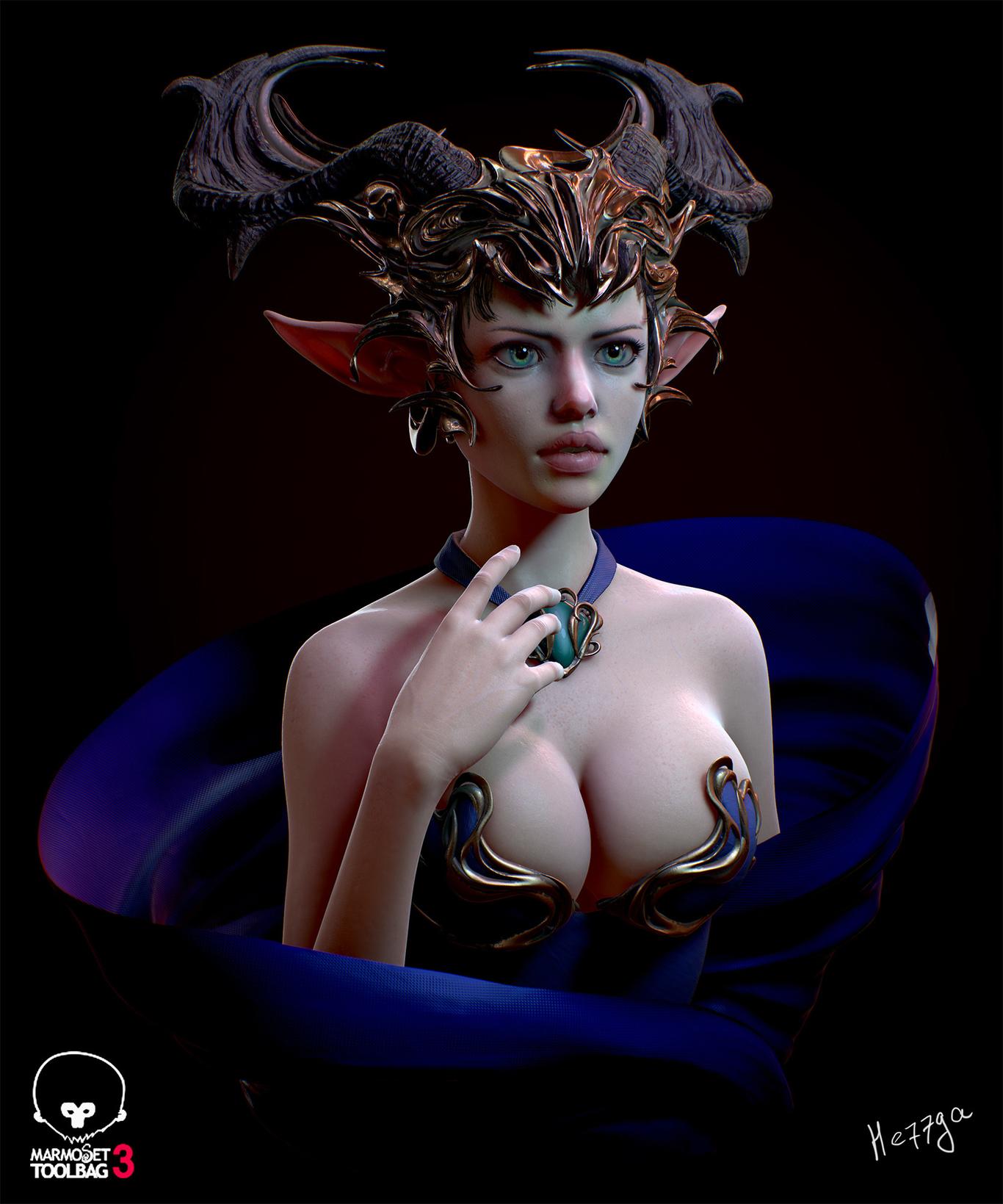 He77ga elf girl in blue 1 74502e84 w9x2