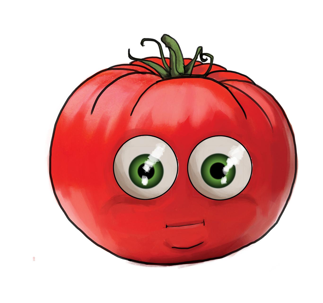 Картинка помидор с глазками плохо мае