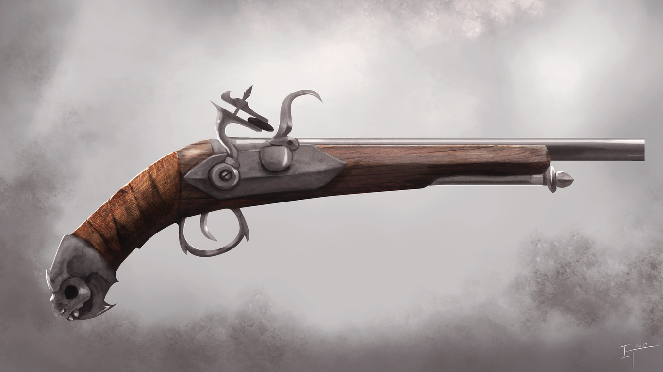 Okeanos Model 1791 Ilya-treleaven-flintlock-pistol-con-1-721860ac-fq29