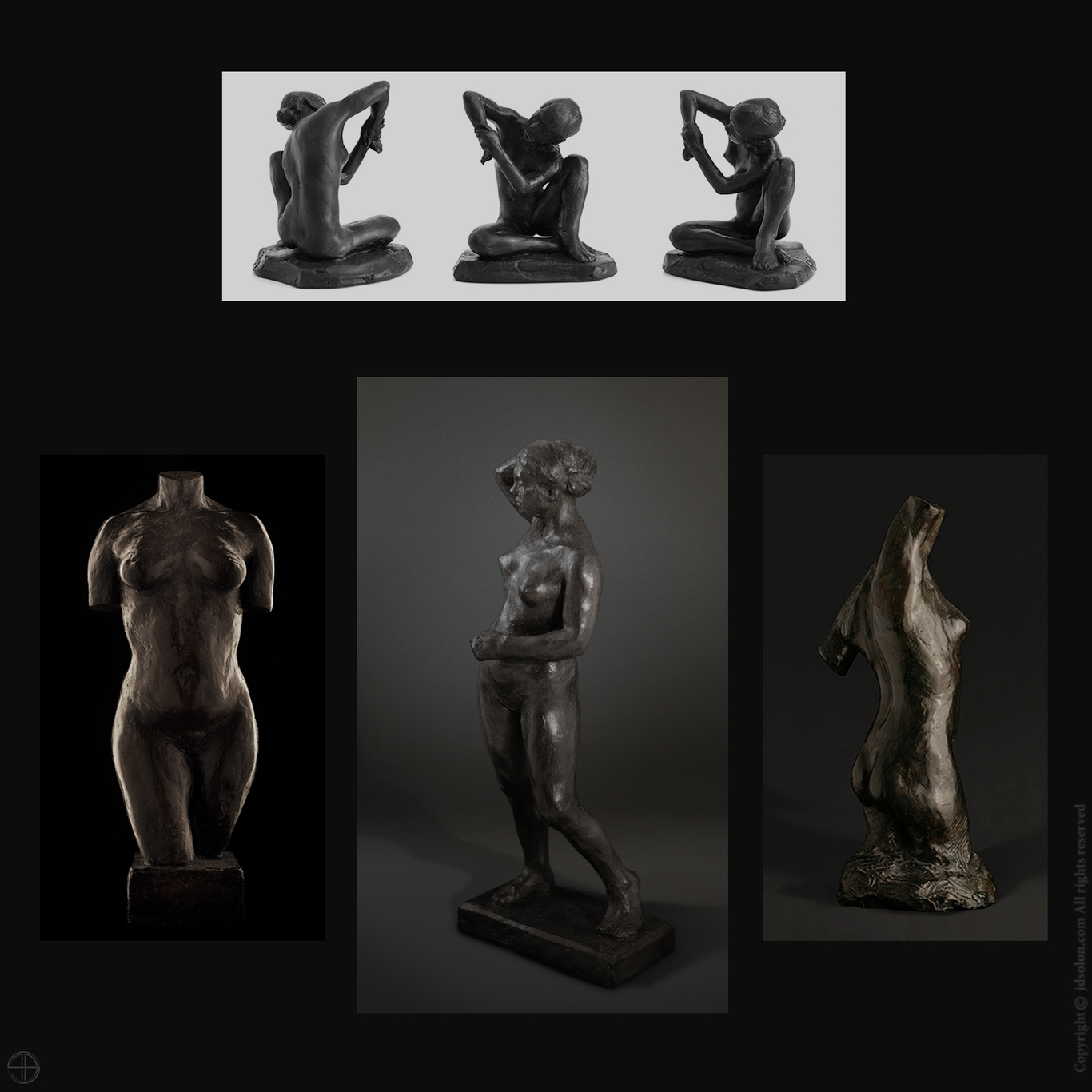 Sculptures by jean-david   Figurative   3D   CGSociety