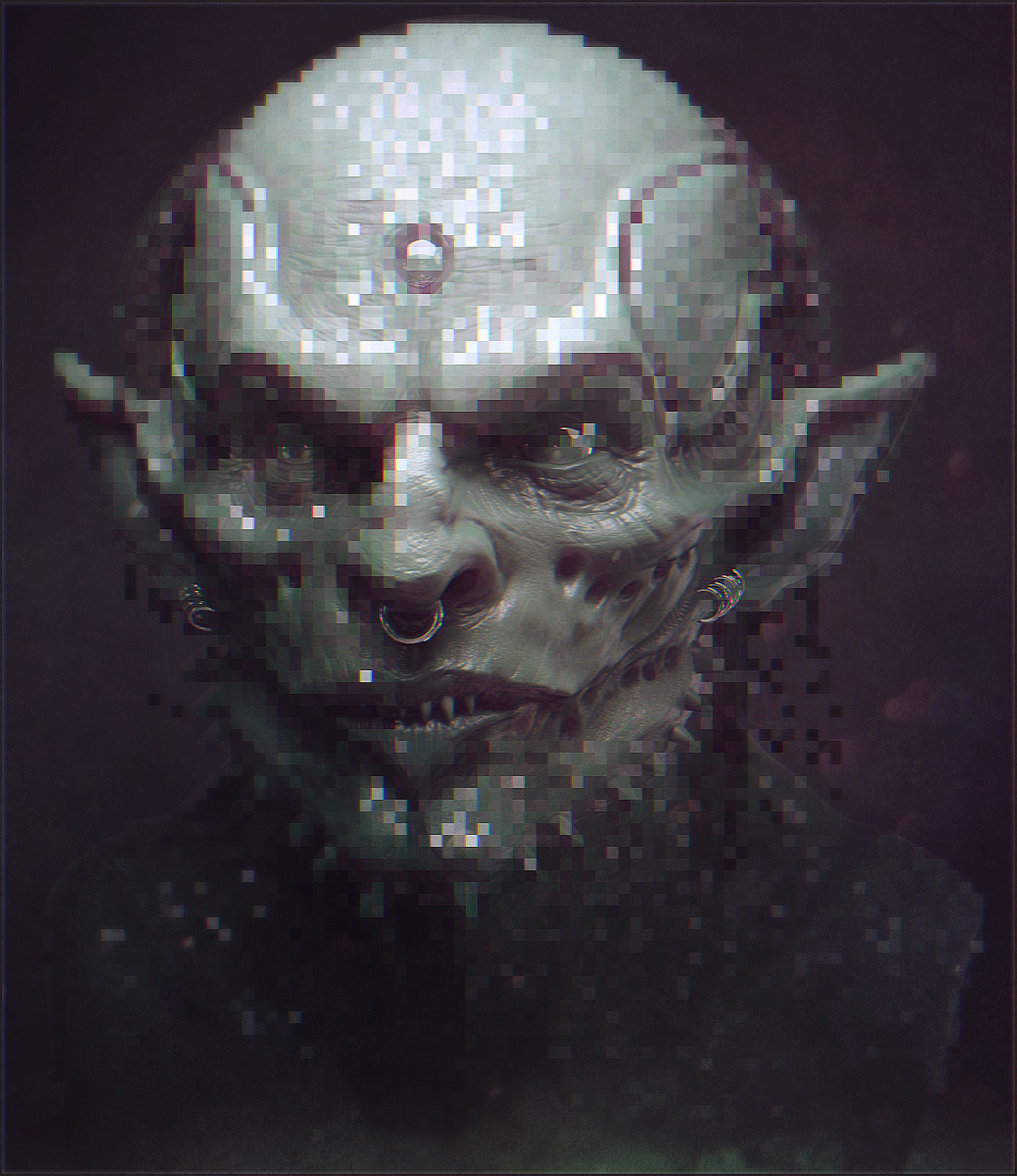 Gobbo Sketch Keyshot Test