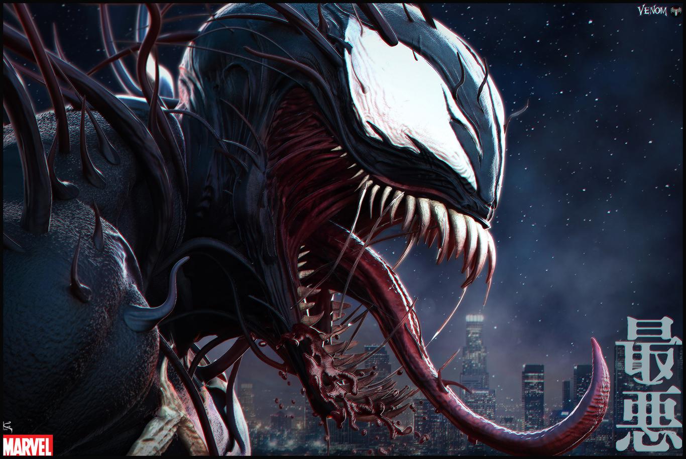 Venom Seperation Anxiety - Midnight Doodle