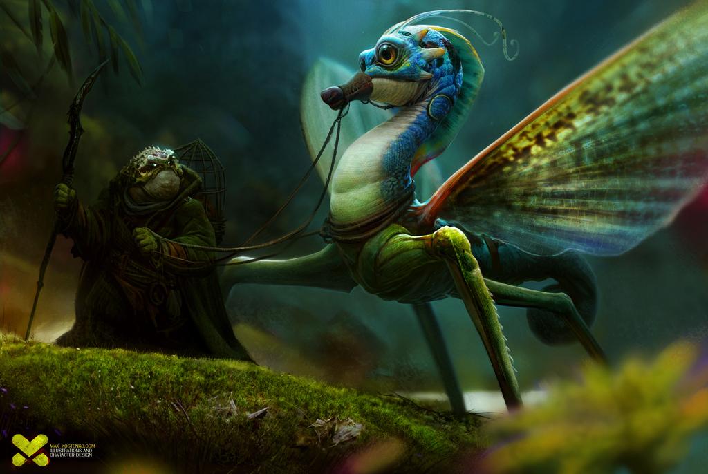 Seahorse By Kostenkomax 2d Cgsociety