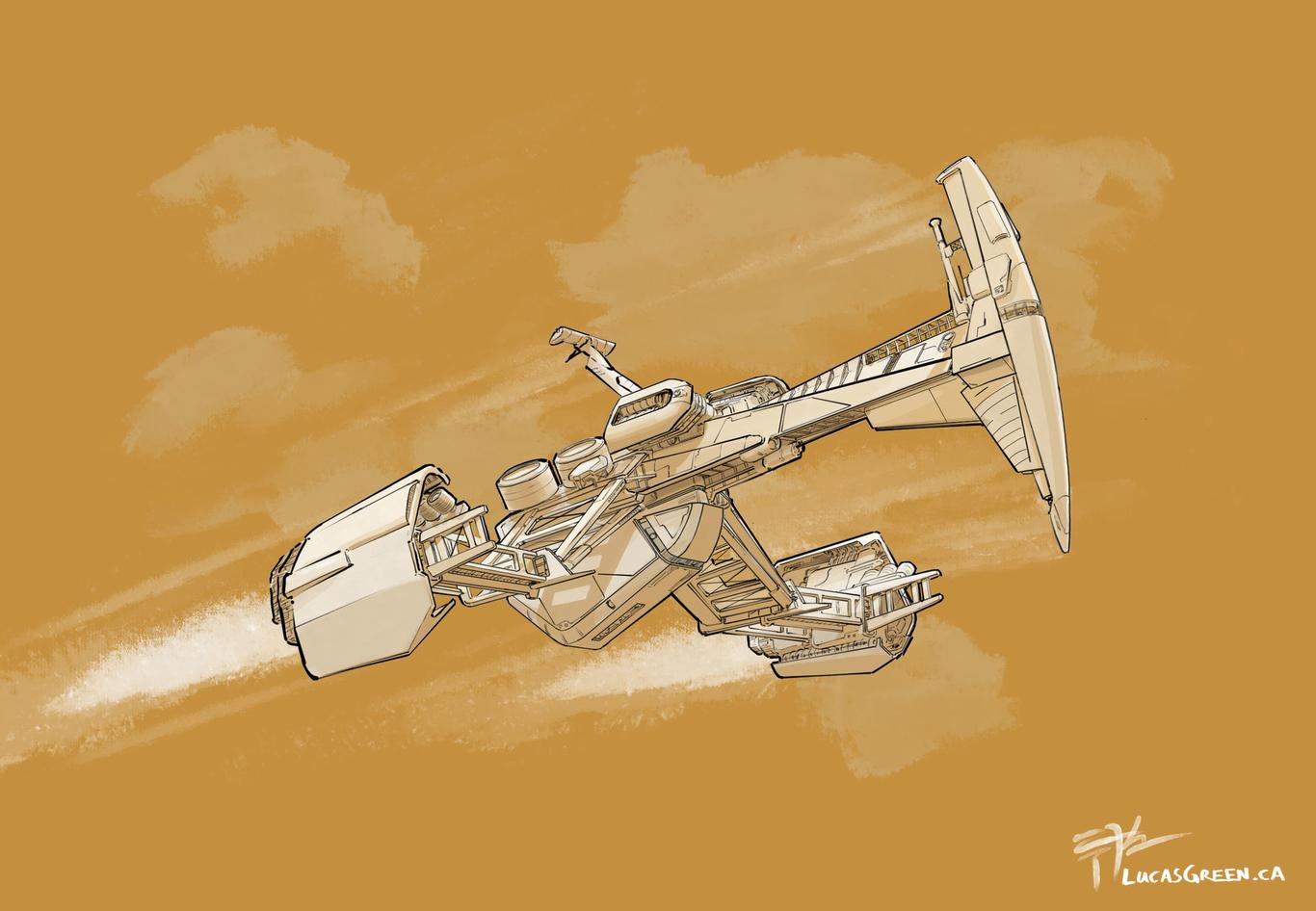 Lucasgreen spaceship sketch 1 180690b5 pjww